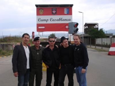 Militärbasis Camp Casablanca, Kosovo